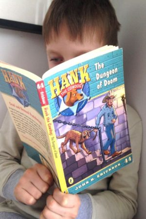 hank the cow dog books for boys