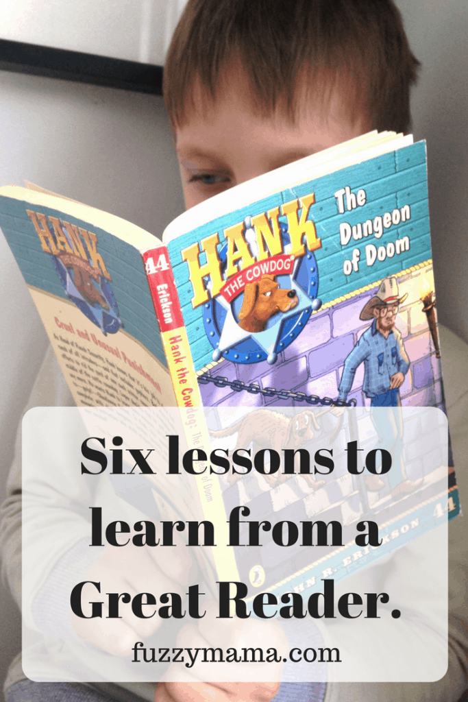 six lessons to learn from a great reader