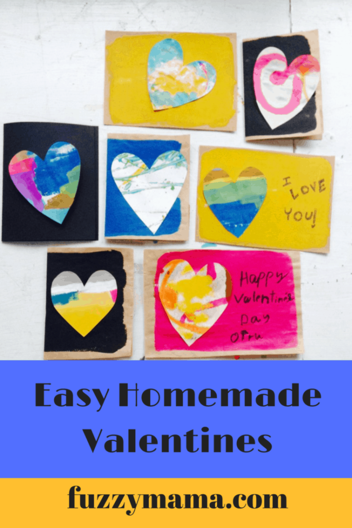 easy homemade valentines