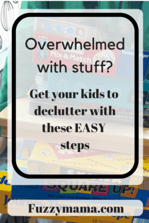 encouraging kids to declutter
