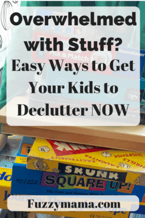 Easy ways to get your kids to declutter