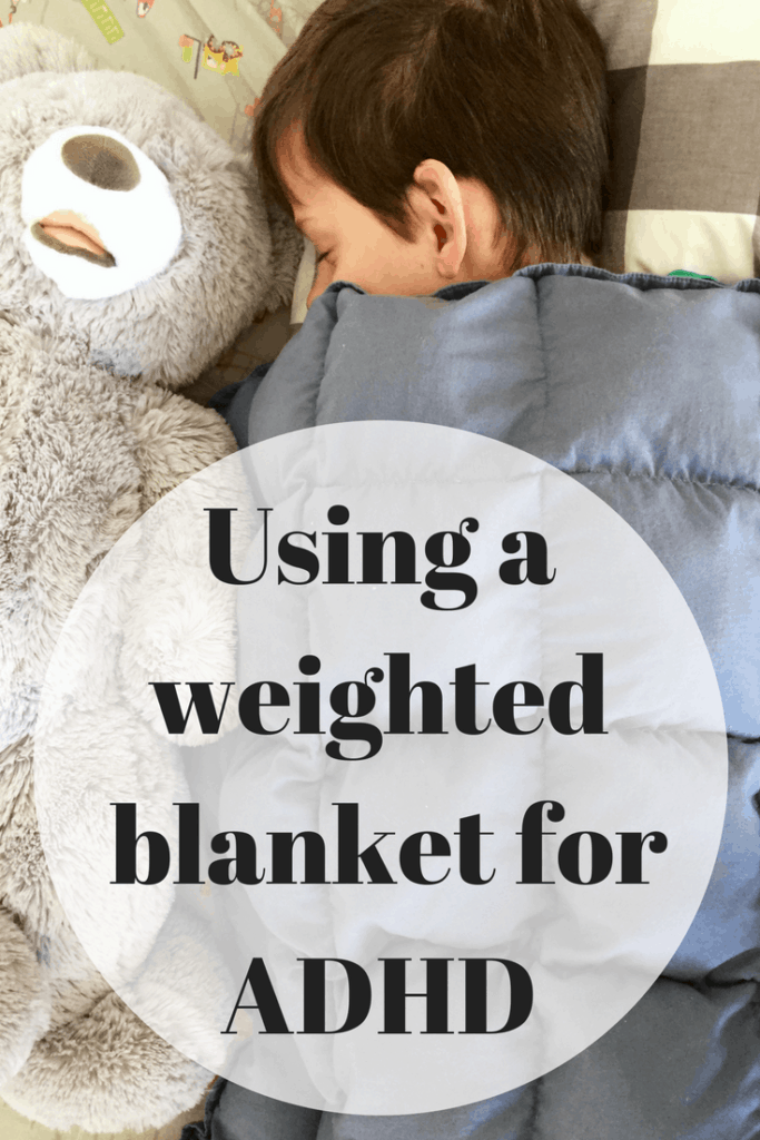 using a weighted blanket for adhd