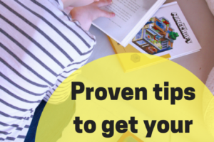 Proven tipsto get your ADHD kid to love to read