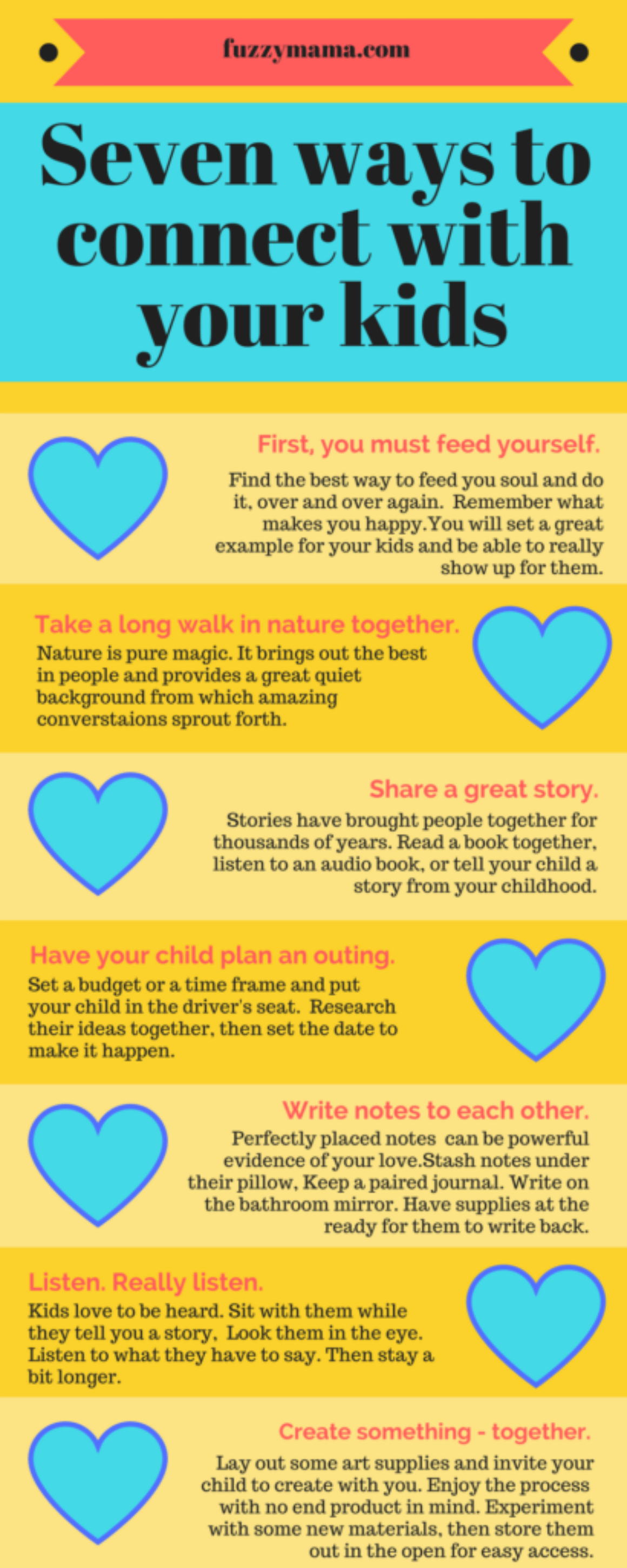 seven ways to connect with your kids