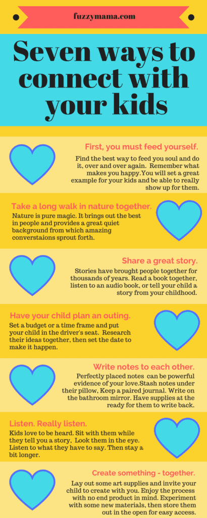 seven ways to connect with your child