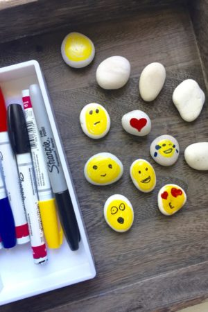 emoji rock invitation