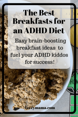 breakfasts for an adhd diet