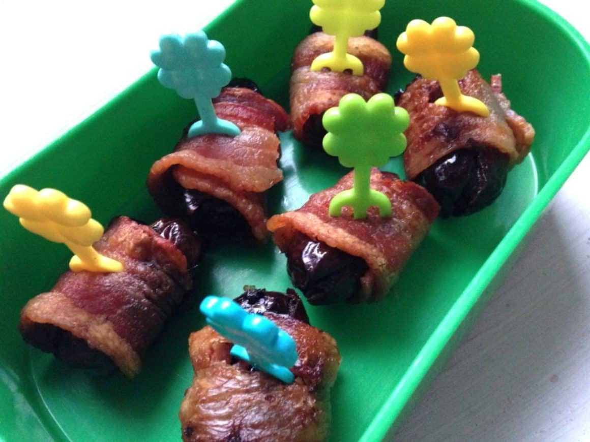 bacon wrapped dates my boys can cook