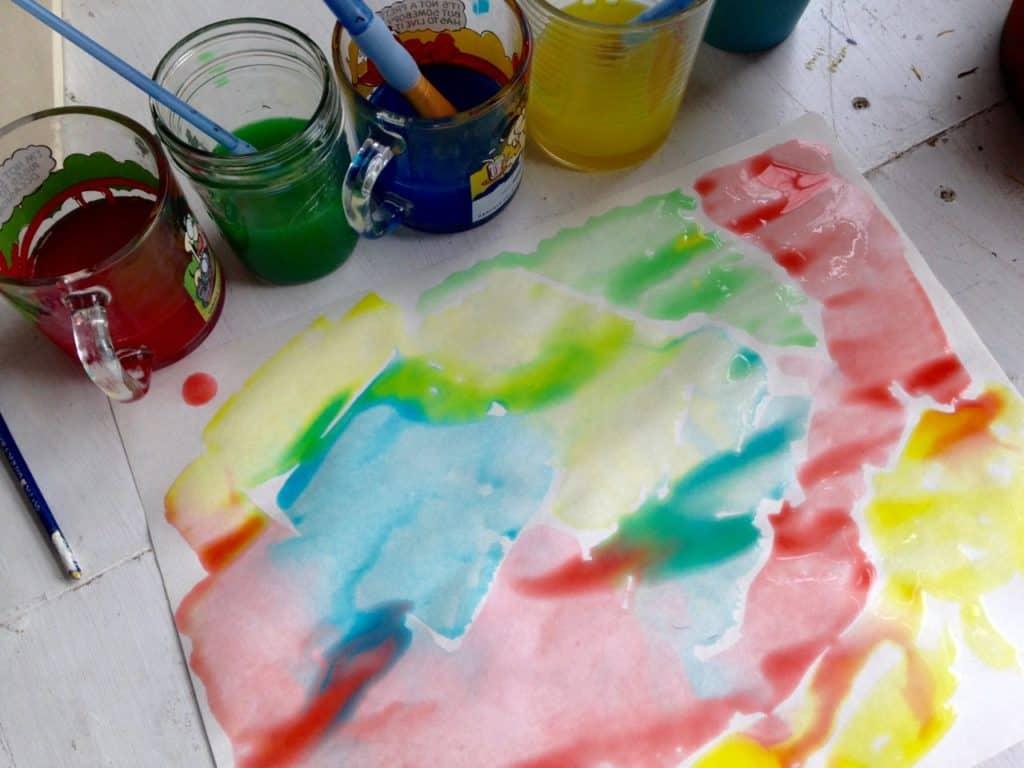 easy homemade paint