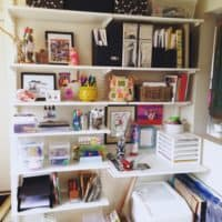 organizing our art and tinker space