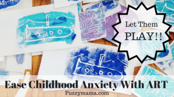 easing childhood anxiety