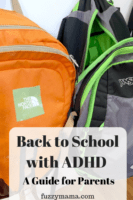 back to school with adhd