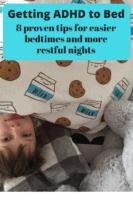 getting kids with adhd to sleep