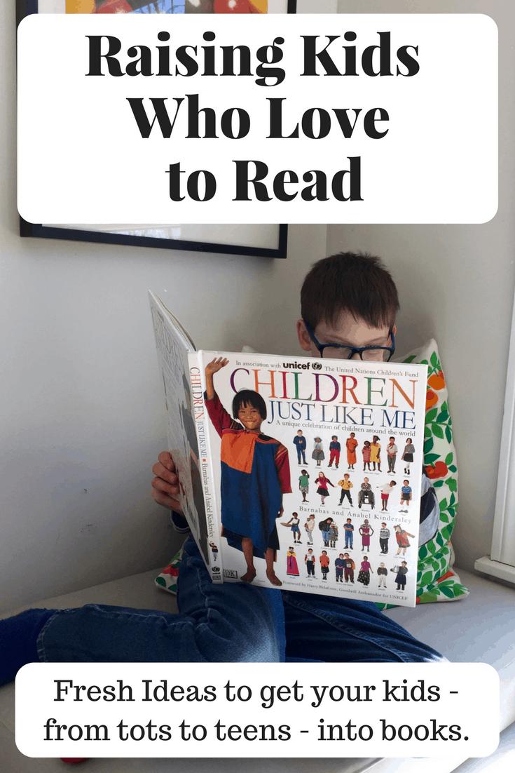 raising kids who love to read