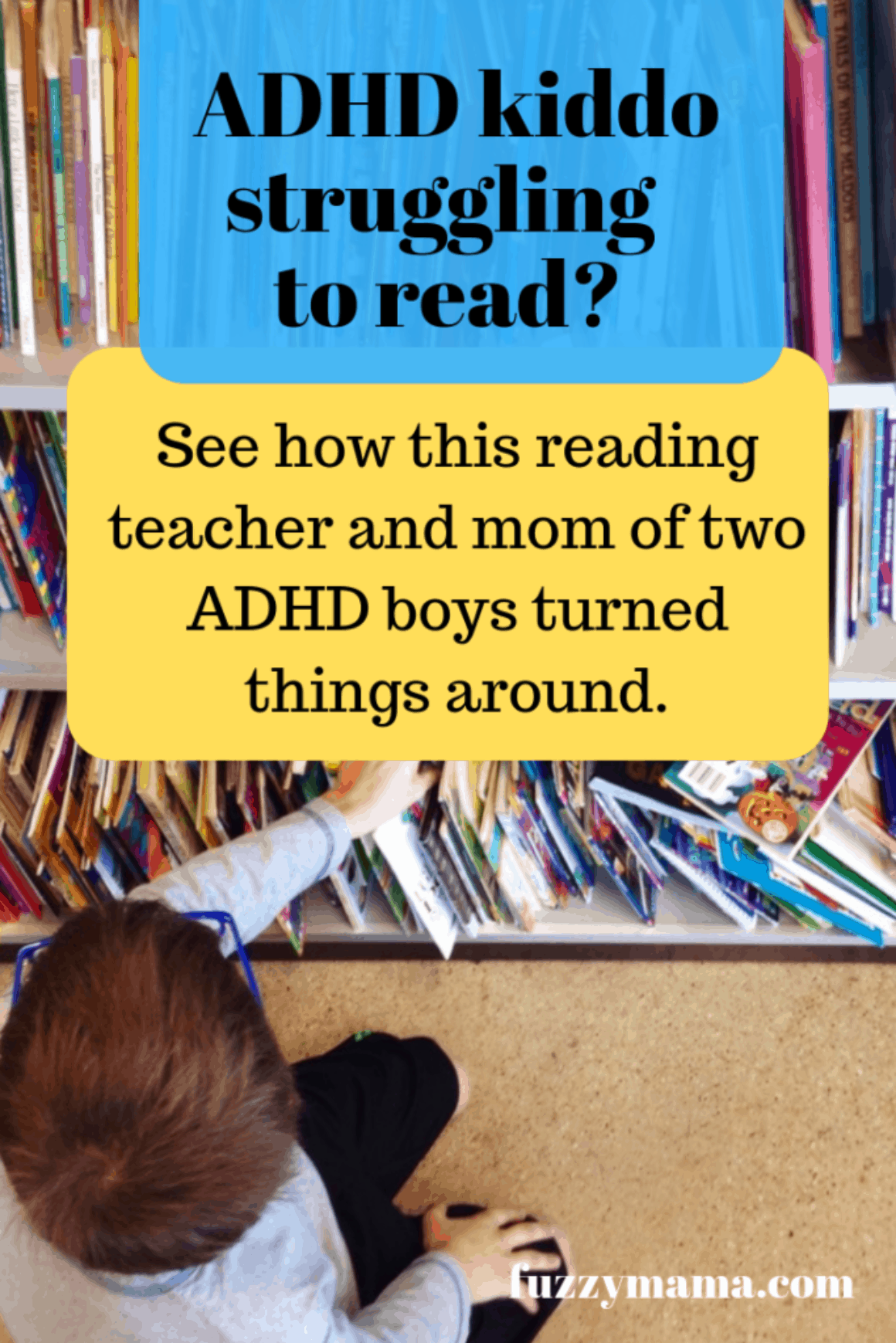 reading help for adhd kids