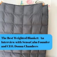 the best weighted blanket an interview with sensacalm founder and CEO Donna Chambers