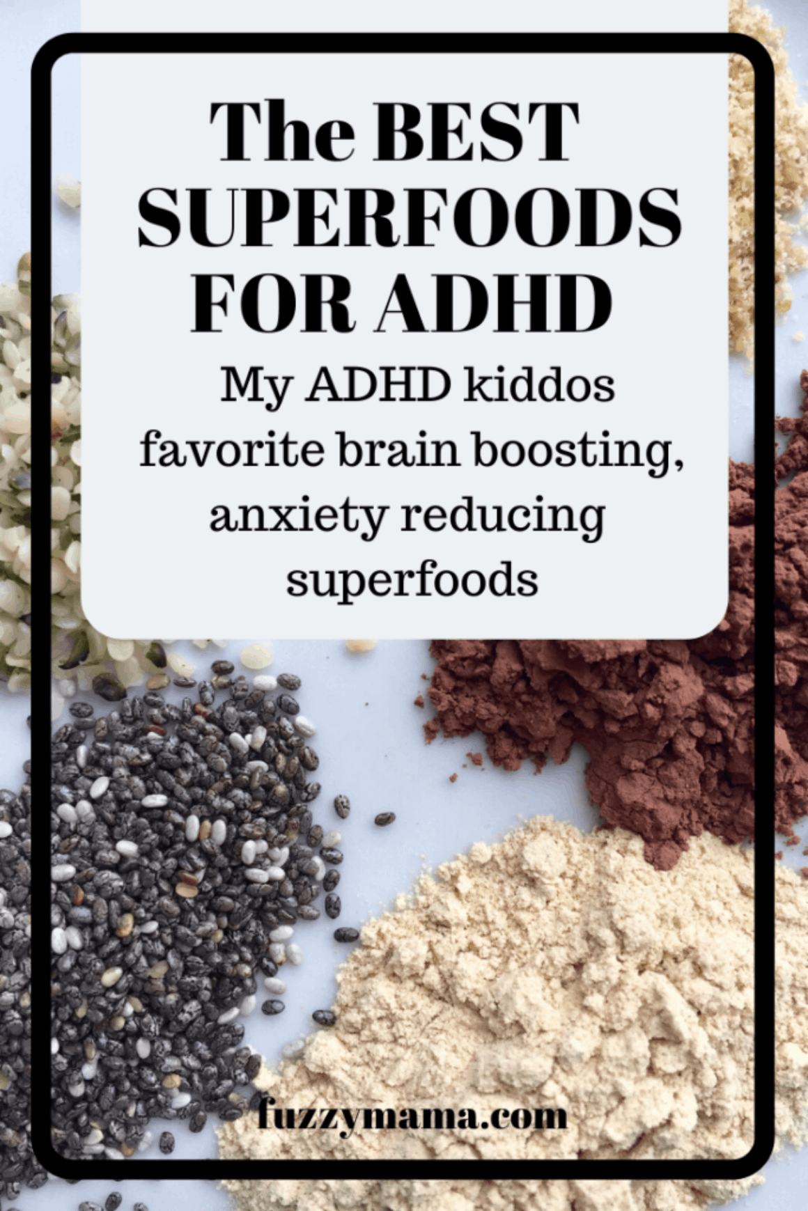 Best Superfoods for ADHD