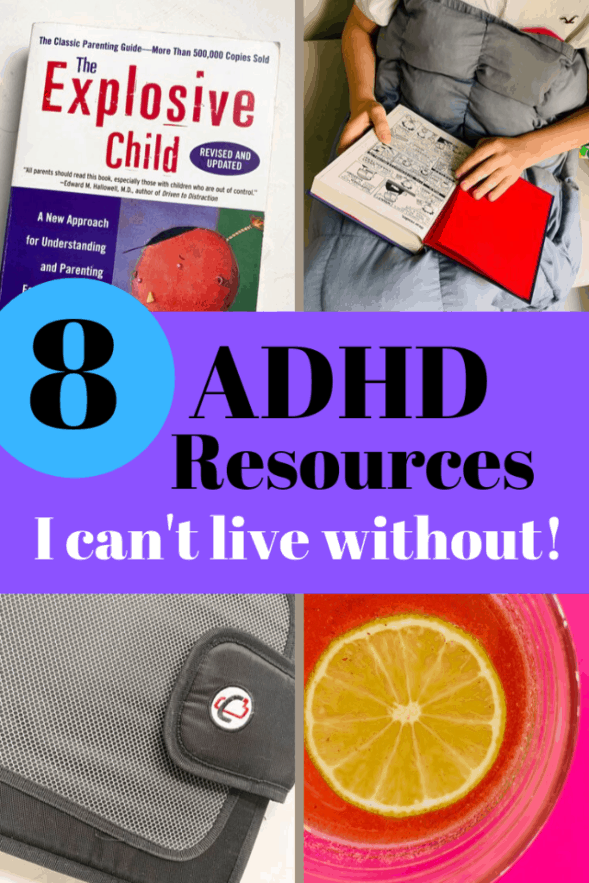 ADHD resources list