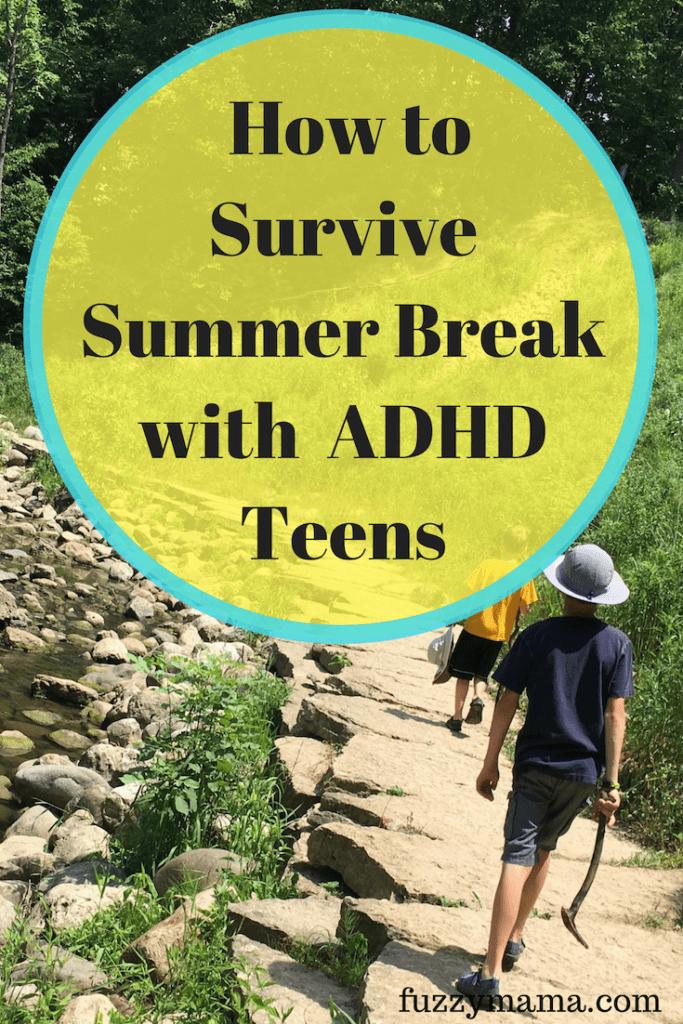 adhd summer ideas