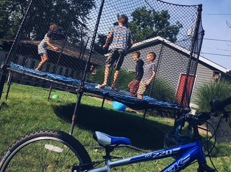 trampoline for adhd