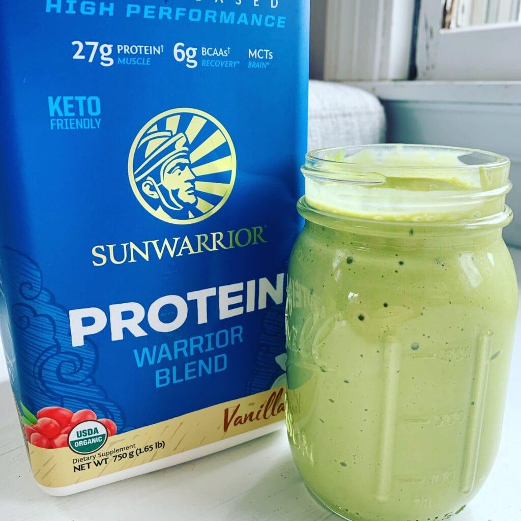 sun warrior protein powder